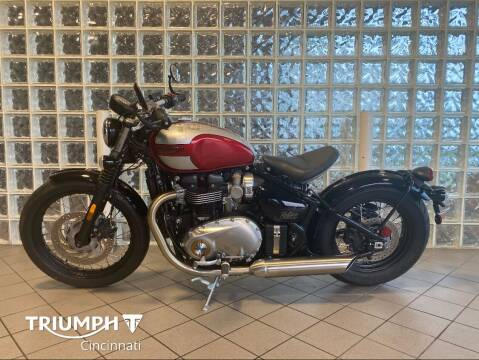 2018 Triumph Bonneville Bobber for sale at TRIUMPH CINCINNATI in Cincinnati OH