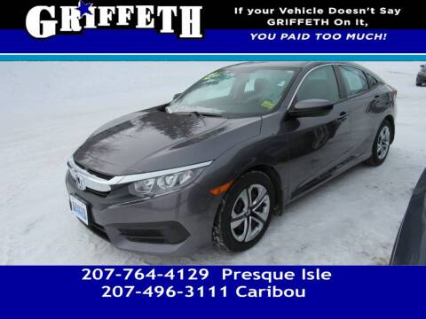 2018 Honda Civic for sale at Griffeth Mitsubishi - Pre-owned in Caribou ME