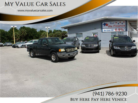 2003 Ford Ranger for sale at My Value Car Sales - Upcoming Cars in Venice FL