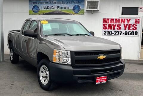 2013 Chevrolet Silverado 1500 for sale at Manny G Motors in San Antonio TX