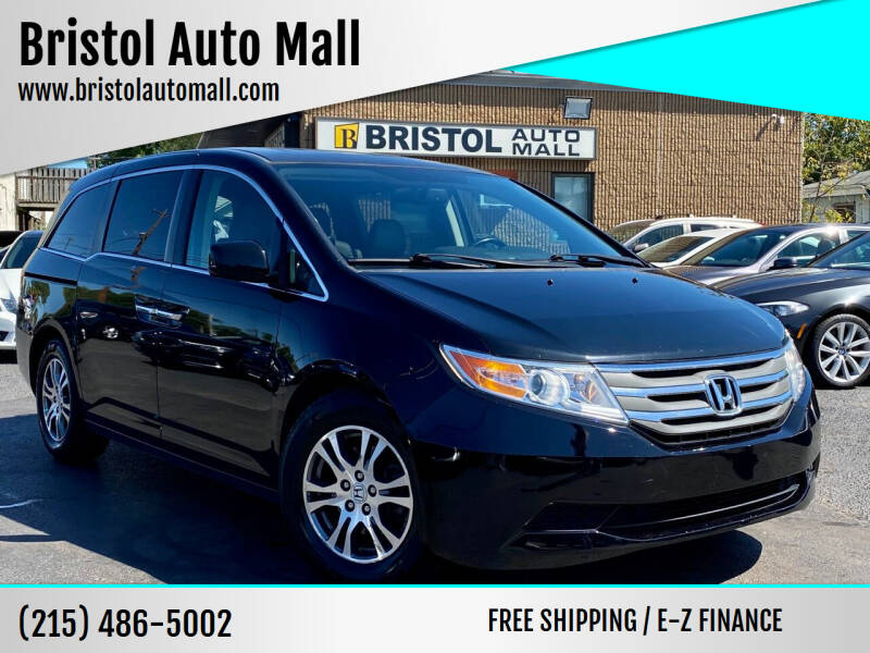 2013 Honda Odyssey for sale at Bristol Auto Mall in Levittown PA