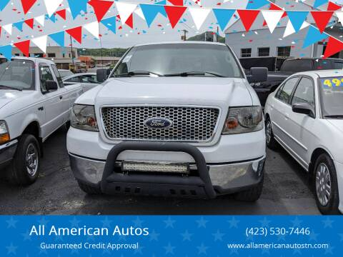 2006 Ford F-150 for sale at All American Autos in Kingsport TN