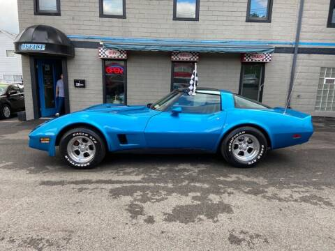 1981 Chevrolet Corvette for sale at Sisson Pre-Owned in Uniontown PA