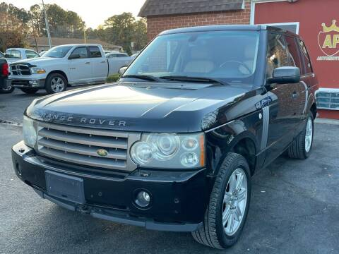 2006 Land Rover Range Rover for sale at AP Automotive in Cary NC