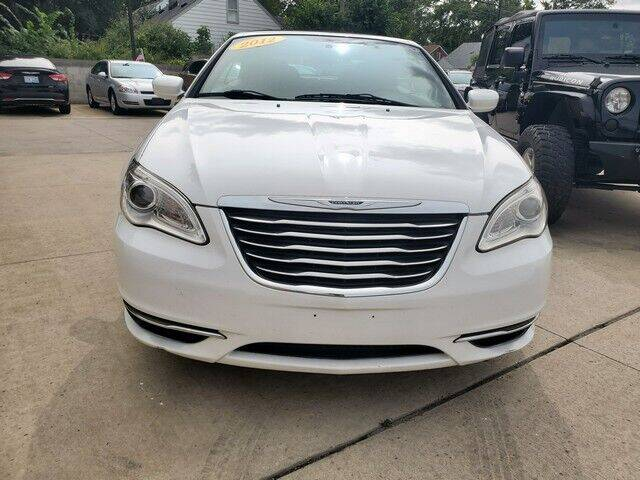 2012 Chrysler 200 Convertible for sale at Great Ways Auto Finance in Redford MI
