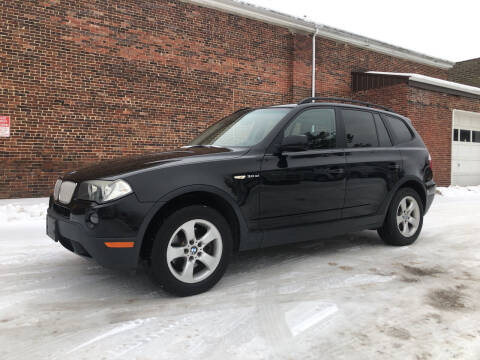 2007 BMW X3 for sale at Jim's Hometown Auto Sales LLC in Byesville OH