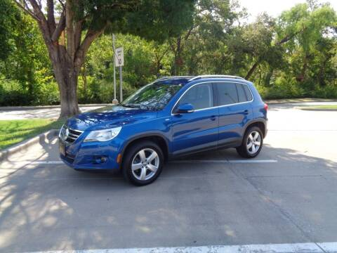 2010 Volkswagen Tiguan for sale at ACH AutoHaus in Dallas TX