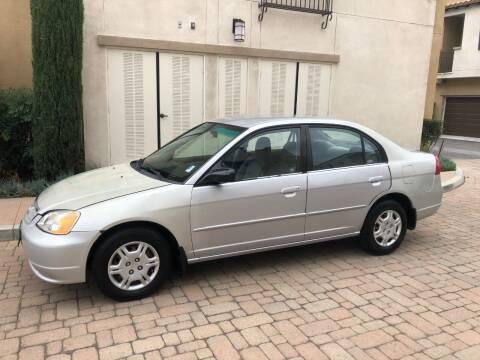 2002 Honda Civic for sale at California Motor Cars in Covina CA