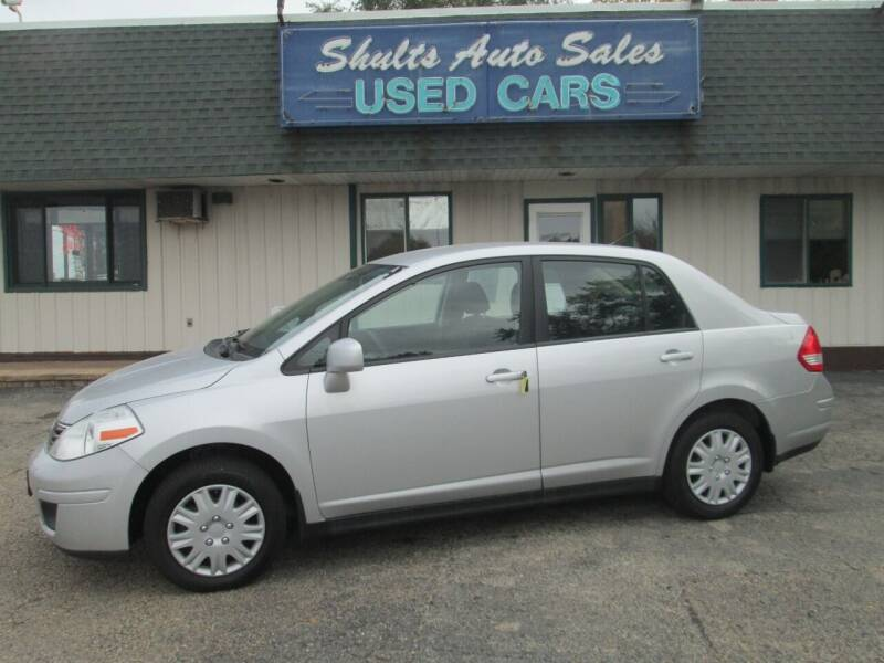 2010 Nissan Versa for sale at SHULTS AUTO SALES INC. in Crystal Lake IL