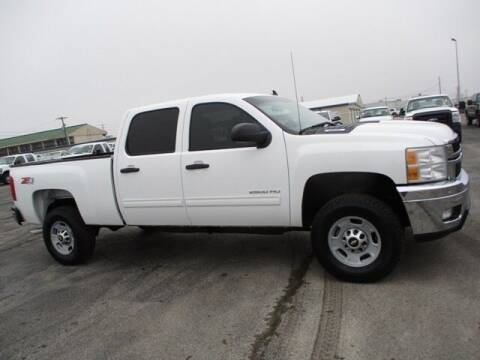 2012 Chevrolet Silverado 2500HD for sale at GOWEN WHOLESALE AUTO in Lawrenceburg TN