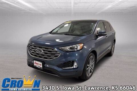 2019 Ford Edge for sale at Crown Automotive of Lawrence Kansas in Lawrence KS