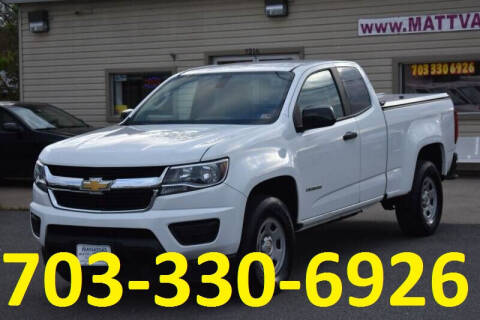 2017 Chevrolet Colorado for sale at MANASSAS AUTO TRUCK in Manassas VA