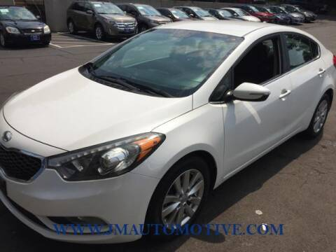 2014 Kia Forte for sale at J & M Automotive in Naugatuck CT