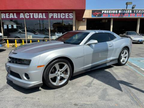 2010 Chevrolet Camaro for sale at Sanmiguel Motors in South Gate CA