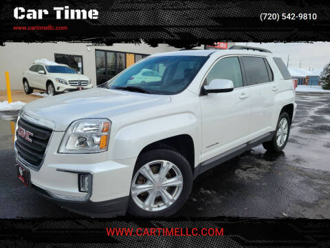 2017 GMC Terrain for sale at Car Time in Denver CO