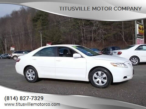 2007 Toyota Camry for sale at Titusville Motor Company in Titusville PA
