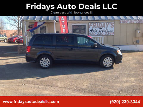 2014 Dodge Grand Caravan for sale at Fridays Auto Deals LLC in Oshkosh WI
