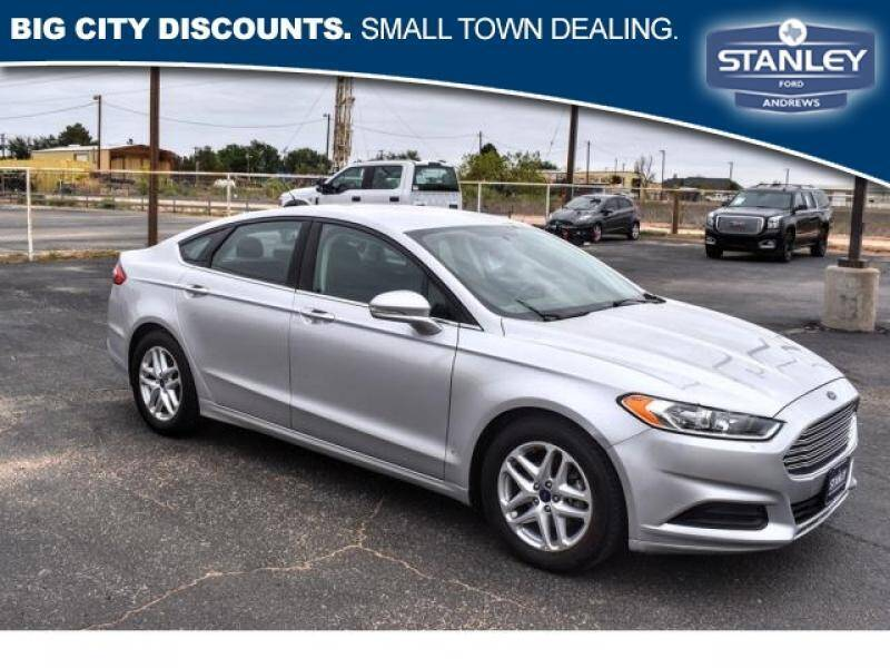2016 Ford Fusion for sale at Stanley Automotive Finance Enterprise - STANLEY CHRYSLER DODGE JEEP RAM GATESVILLE in Gatesville TX