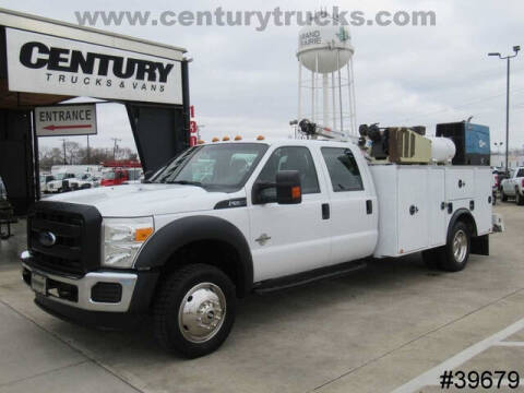 2013 Ford F-550 Super Duty for sale at CENTURY TRUCKS & VANS in Grand Prairie TX