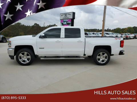 2018 Chevrolet Silverado 1500 for sale at Hills Auto Sales in Salem AR