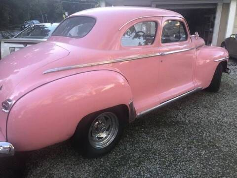 1948 Plymouth Deluxe for sale at Classic Car Deals in Cadillac MI