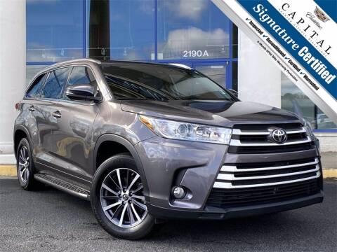 2018 Toyota Highlander for sale at Capital Cadillac of Atlanta in Smyrna GA