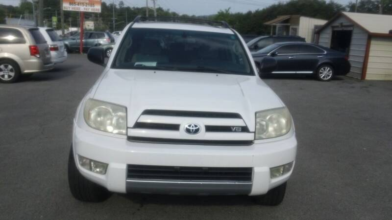 2004 Toyota 4Runner for sale at Knoxville Used Cars in Knoxville TN