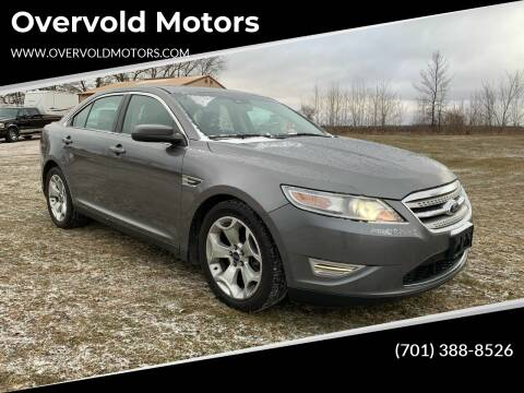 2011 Ford Taurus for sale at Overvold Motors in Detriot Lakes MN