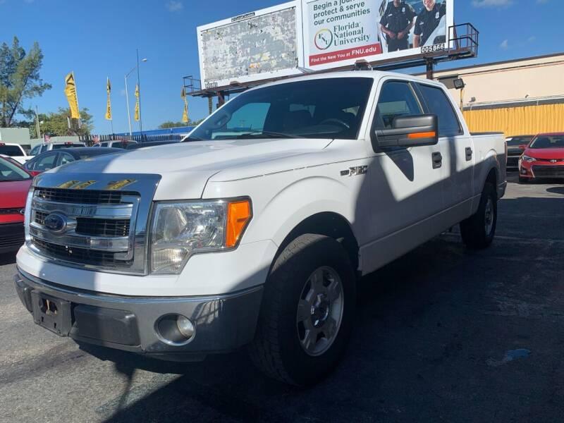 2013 Ford F-150 for sale at AUTO ALLIANCE LLC in Miami FL