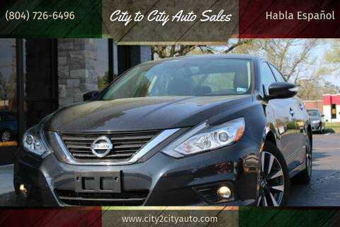 2016 Nissan Altima for sale at City to City Auto Sales - Raceway in Richmond VA