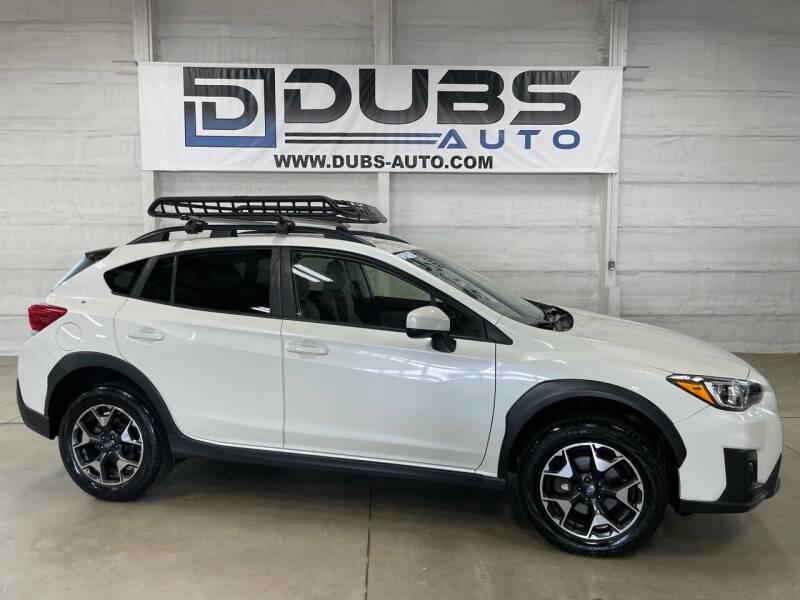 2019 Subaru Crosstrek for sale at DUBS AUTO LLC in Clearfield UT