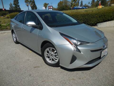 2016 Toyota Prius for sale at ARAX AUTO SALES in Tujunga CA