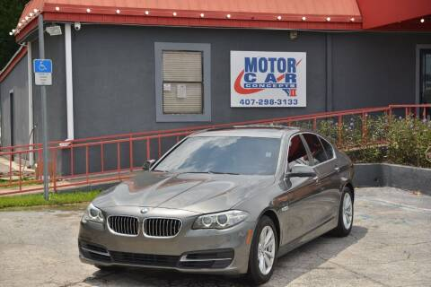 2014 BMW 5 Series for sale at Motor Car Concepts II - Kirkman Location in Orlando FL