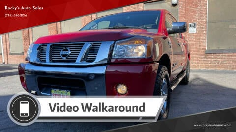 2012 Nissan Titan for sale at Rocky's Auto Sales in Worcester MA