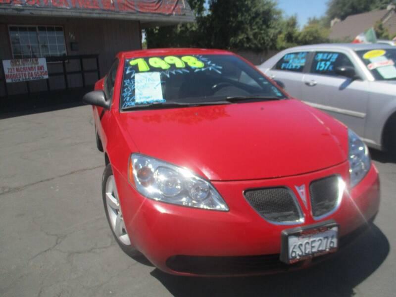 2007 Pontiac G6 for sale at Quick Auto Sales in Modesto CA