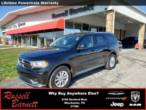 2020 Dodge Durango for sale at Russell Barnett Chrysler Dodge Jeep Ram in Winchester TN