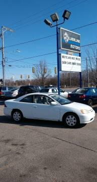 2002 Honda Civic for sale at Silverline Motors in Grand Rapids MI