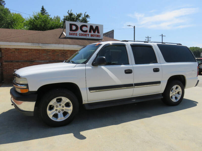 2005 Chevrolet Suburban for sale at Davie County Motors in Mocksville NC