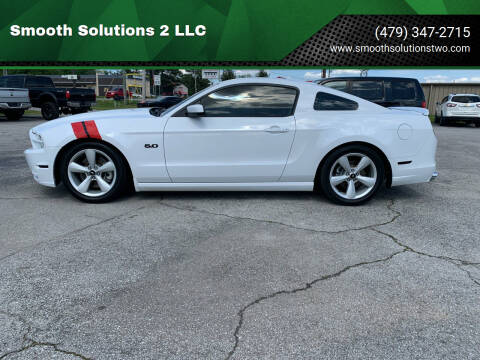 2014 Ford Mustang for sale at Smooth Solutions 2 LLC in Springdale AR