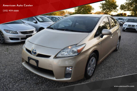 2011 Toyota Prius for sale at American Auto Center in Austin TX