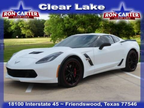 2019 Chevrolet Corvette for sale at Ron Carter  Clear Lake Used Cars in Houston TX