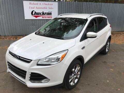 2014 Ford Escape for sale at Chuckran Auto Parts Inc in Bridgewater MA