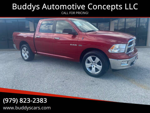 2009 Dodge Ram Pickup 1500 for sale at Buddys Automotive Concepts LLC in Bryan TX