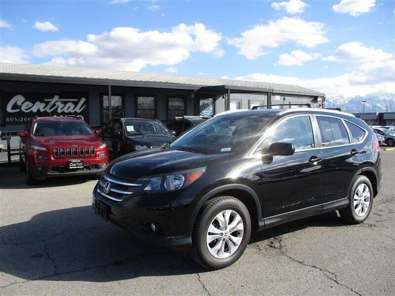 2014 Honda CR-V for sale at Central Auto in South Salt Lake UT