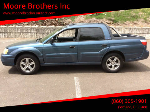 2006 Subaru Baja for sale at Moore Brothers Inc in Portland CT