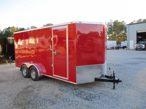2021 Continental Cargo SUNSHINE 7X16 VNOSE ENCLOSED for sale at Vehicle Network - HGR'S Truck and Trailer in Hope Mill NC