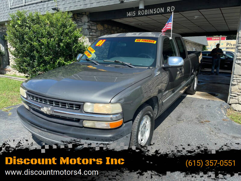 2001 Chevrolet Silverado 1500 for sale at Discount Motors Inc in Old Hickory TN