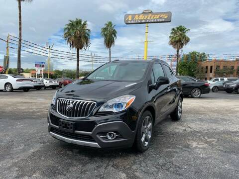 2013 Buick Encore for sale at A MOTORS SALES AND FINANCE in San Antonio TX