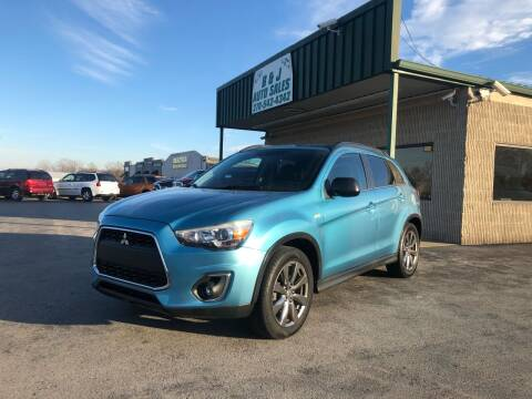 2013 Mitsubishi Outlander Sport for sale at B & J Auto Sales in Auburn KY