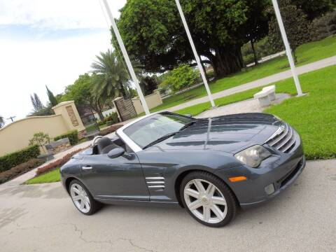 2007 Chrysler Crossfire for sale at M.D.V. INTERNATIONAL AUTO CORP in Fort Lauderdale FL